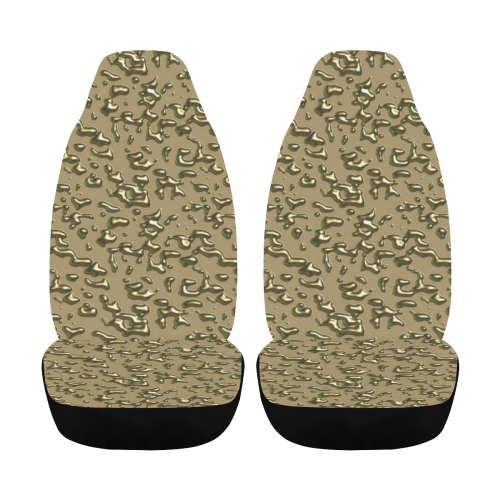 golden drops Car Seat Cover Airbag Compatible (Set of 2)