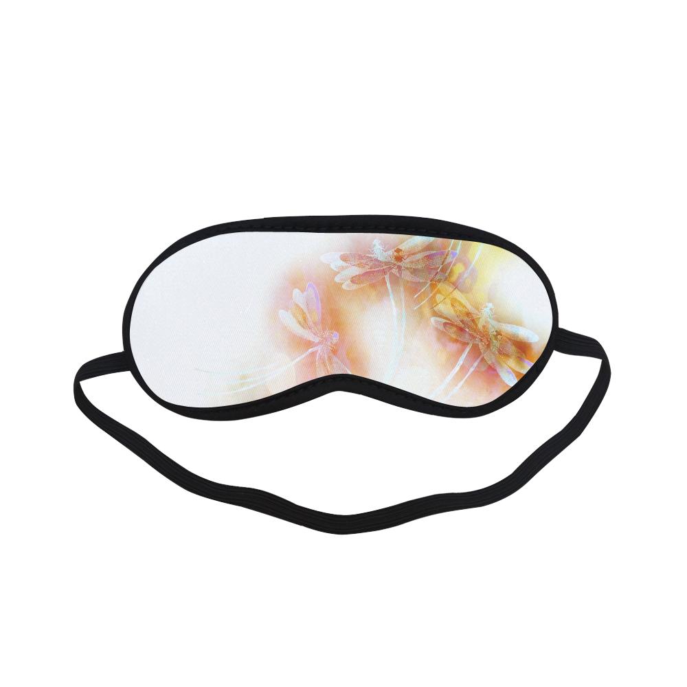 Watercolor dragonflies Sleeping Mask