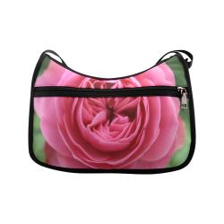 Rose Fleur Macro Crossbody Bags (Model 1616)