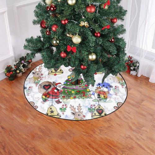 "Christmas by Nico Bielow Christmas Tree Skirt 47"" x 47"""