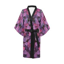 Rainbow leafs Kimono Robe