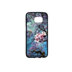 Cherry blossomL Rubber Case for Samsung Galaxy S7 edge