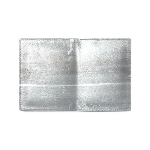 grey sky Men's Leather Wallet (Model 1612)