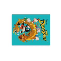 "DuckTales Canvas Print 20""x16"""