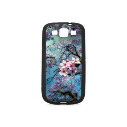 Cherry blossomL Rubber Case for Samsung Galaxy S3