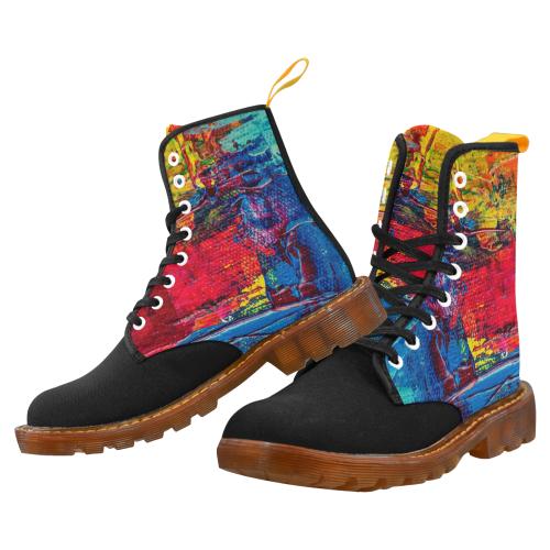 oil_i Martin Boots For Men Model 1203H
