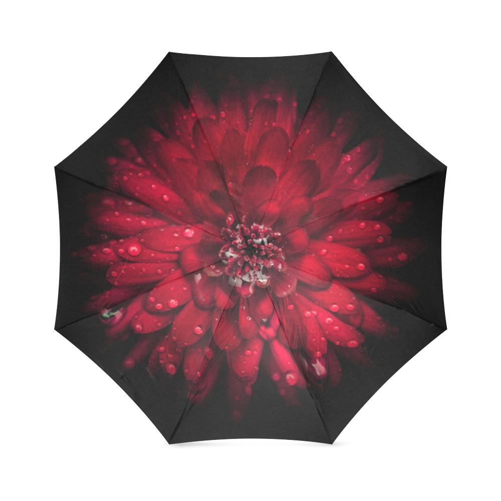 Backyard Flowers 45 Color Version Foldable Umbrella (Model U01)