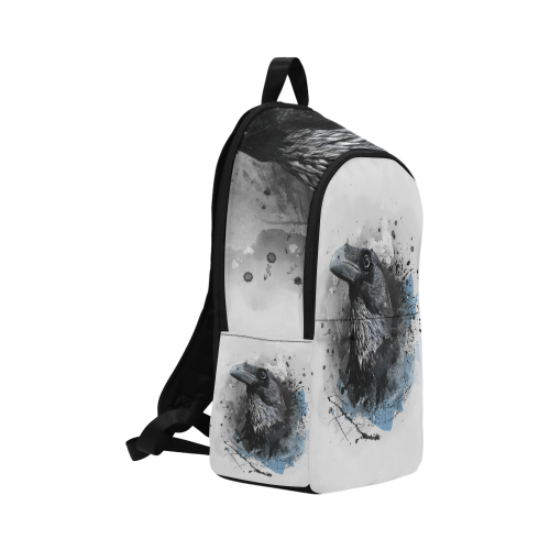 crow raven bird art #crow #raven Fabric Backpack for Adult (Model 1659)