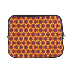 Orange Kaleidoscope Laptop Sleeve Laptop Sleeve 11''