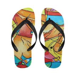 ABSTRACT NO. 1 Flip Flops for Men/Women (Model 040)