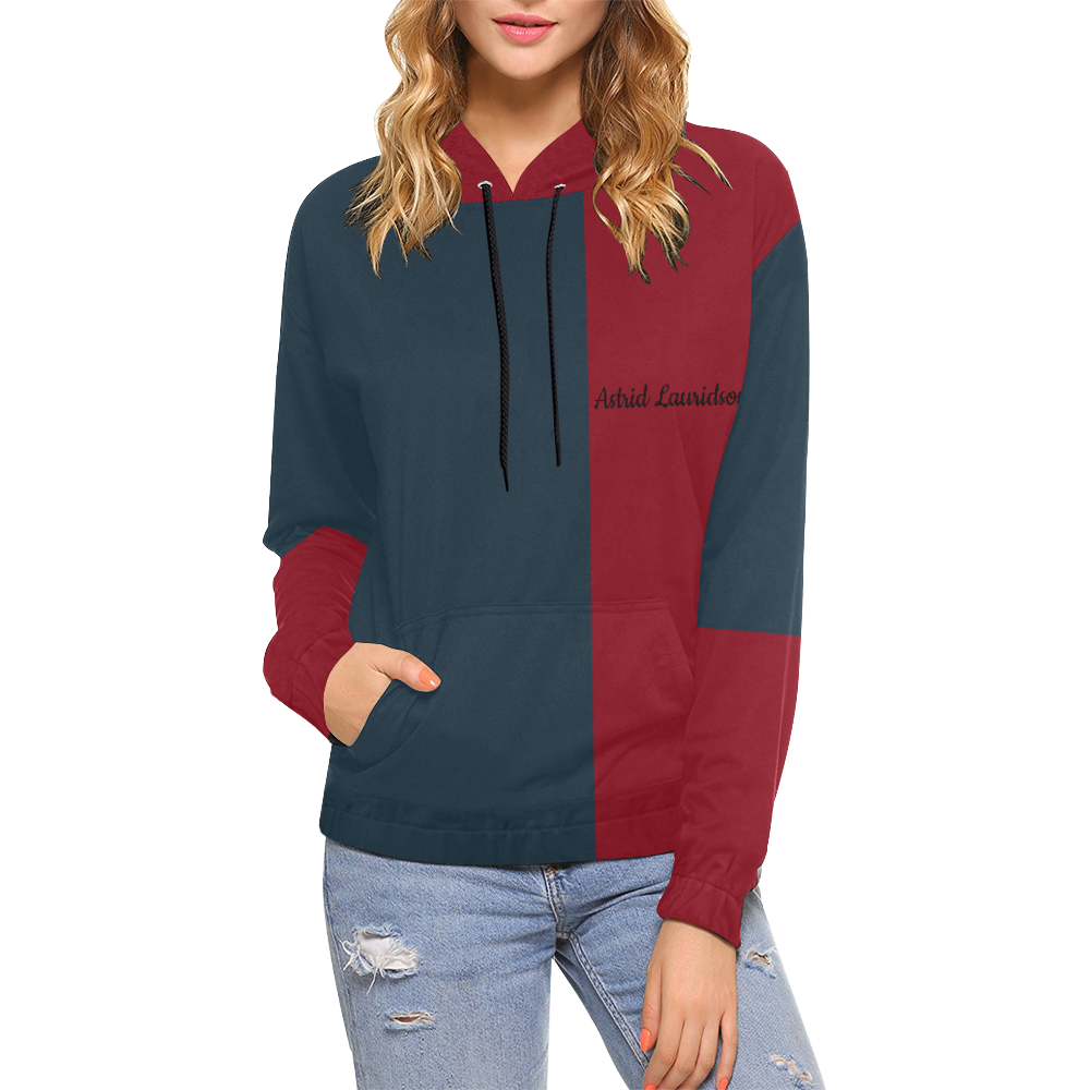71 All Over Print Hoodie for Women (USA Size) (Model H13)