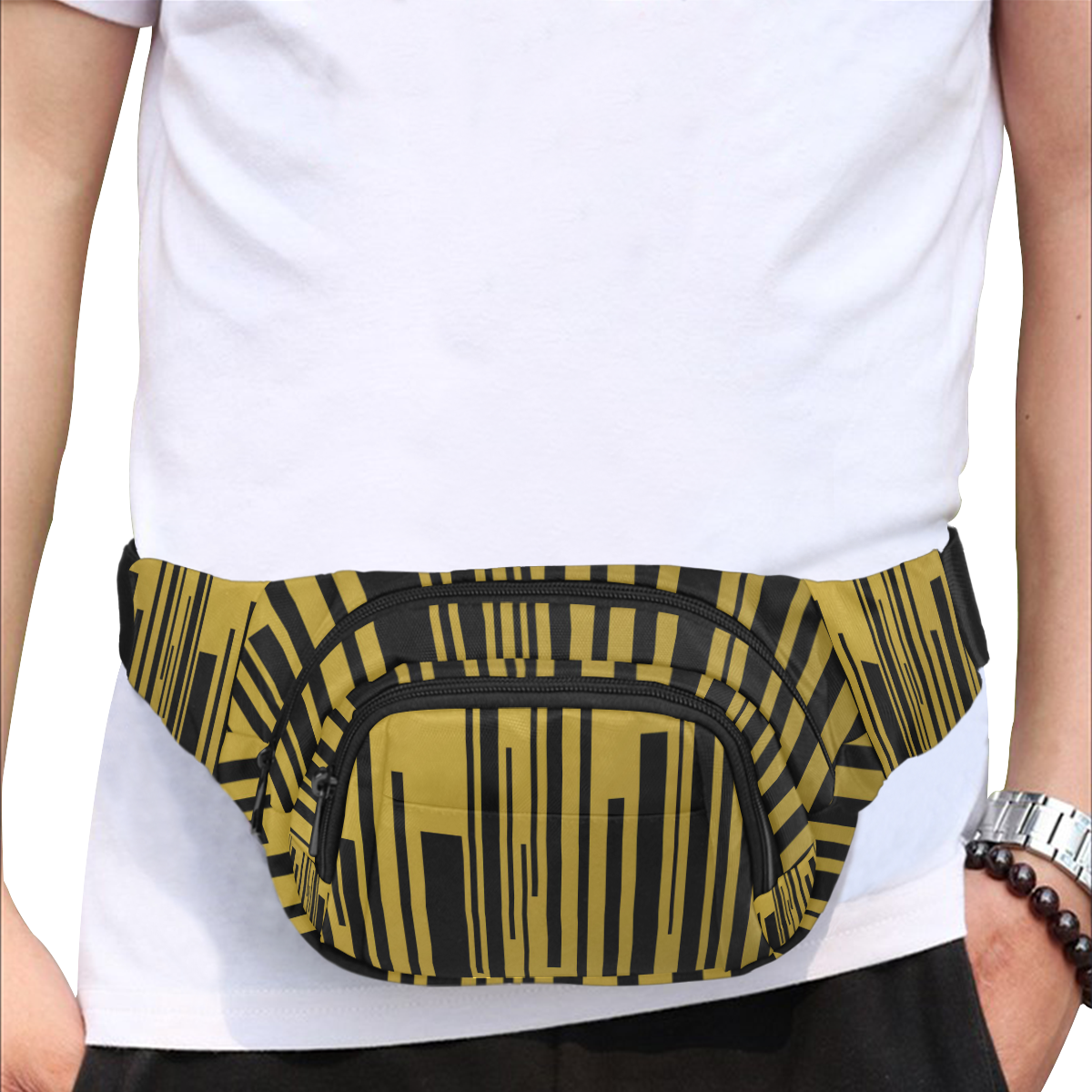 city of gold Fanny Pack/Small (Model 1677)