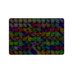 "Ripped SpaceTime Stripes Collection Doormat 24"" x 16"""