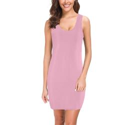 Nadeshilo Pink Medea Vest Dress (Model D06)