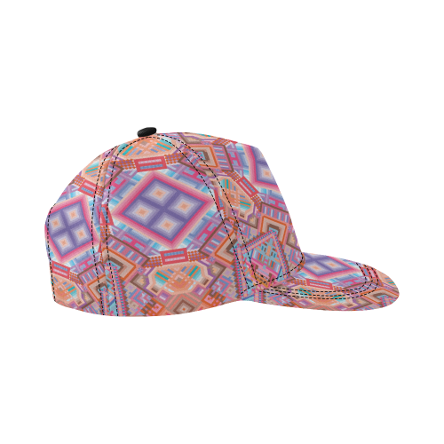 Researcher All Over Print Snapback Hat D