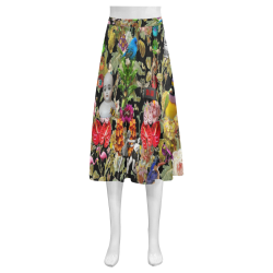 Let me Count the Ways Mnemosyne Women's Crepe Skirt (Model D16)