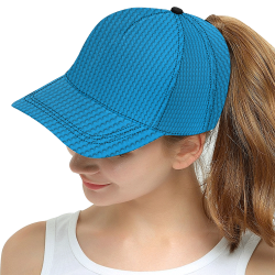 PLASTIC All Over Print Snapback Hat D