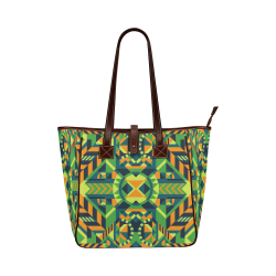 Modern Geometric Pattern Classic Tote Bag (Model 1644)
