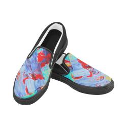 oil_k Men's Unusual Slip-on Canvas Shoes (Model 019)