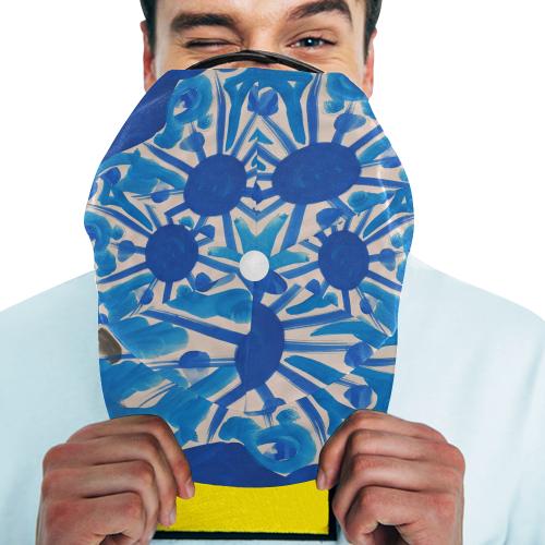 BLUE SUN ART SERIES NOALIE All Over Print Snapback Hat A