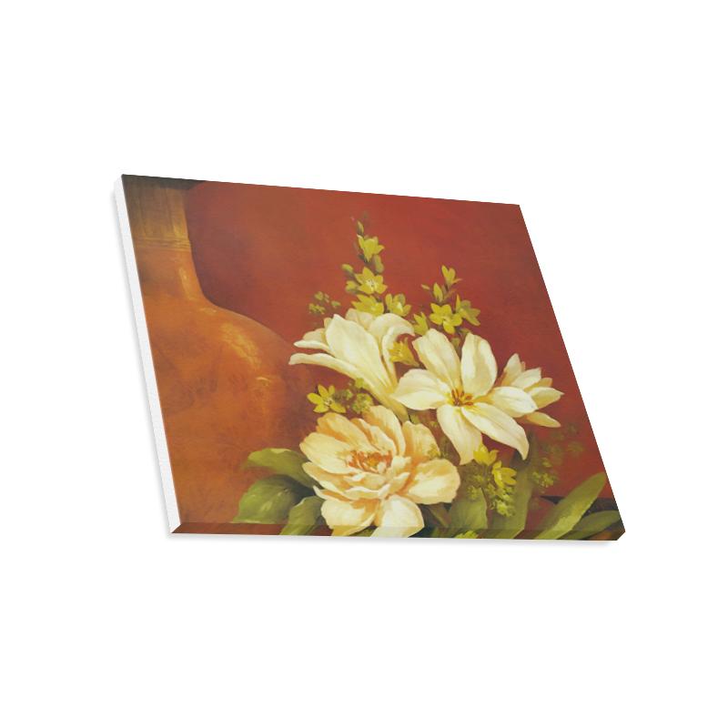 "White Roses Canvas Print 20""x16"""