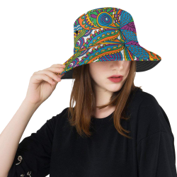 Wuvi19 All Over Print Bucket Hat