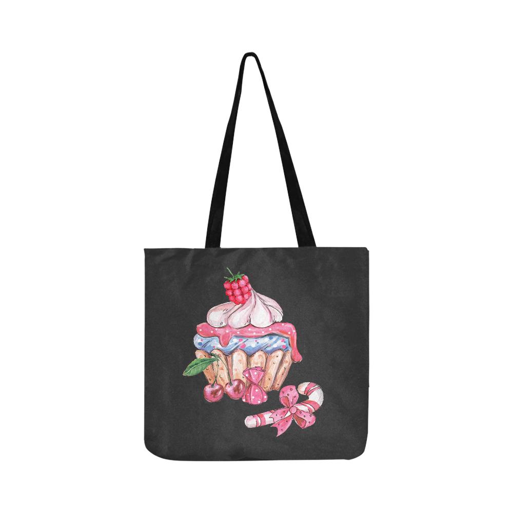 cupcake Reusable Shopping Bag Model 1660 (Two sides)