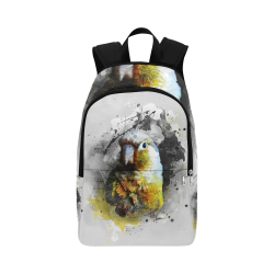 bird parrot art #parrot #bird Fabric Backpack for Adult (Model 1659)
