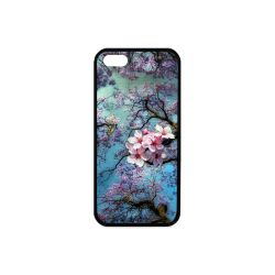 Cherry blossomL Rubber Case for iPhone 5/5s