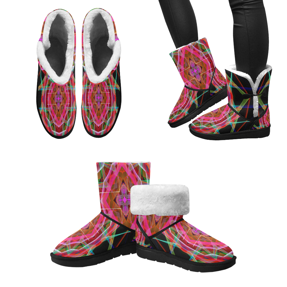 Mandala 3049A Unisex Single Button Snow Boots (Model 051)