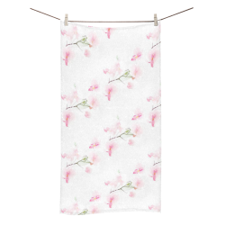"Pattern Orchidées Bath Towel 30""x56"""