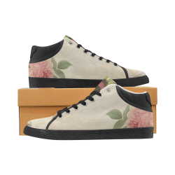 Irene's Romantic ties Women's Chukka Canvas Shoes (Model 003)