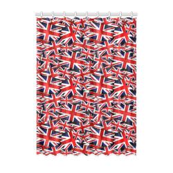 """Union Jack British UK Flag Window Curtain 52"""" x 72""""(One Piece)"""