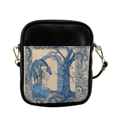 Talking Trees Sling Bag (Model 1627)