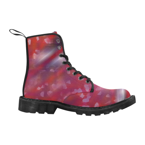 bkg213_1 Martin Boots for Women (Black) (Model 1203H)