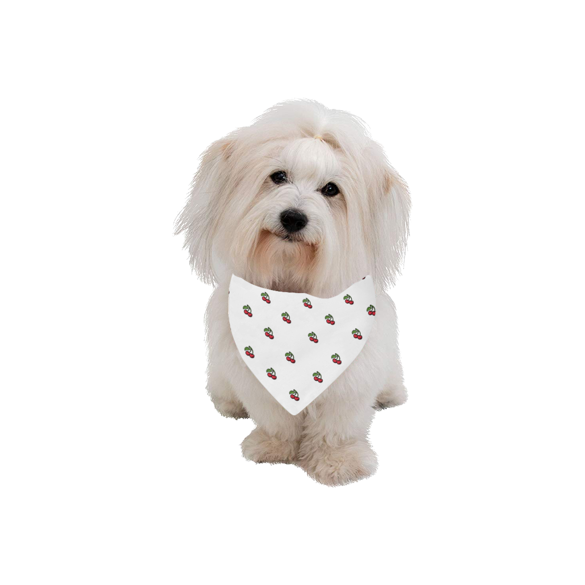 Bandana - Cherry Pet Dog Bandana/Large Size