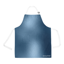 Fairlings Delight's Metallic Collection- Steel Blue Metallic 53086 All Over Print Apron All Over Print Apron
