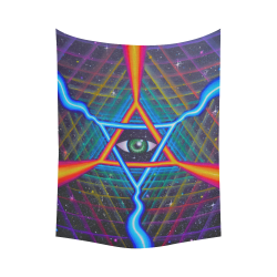 """resonate Cotton Linen Wall Tapestry 60""""x 80"""""""
