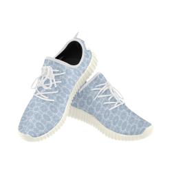 Geometric Floral Grus Women's Breathable Woven Running Shoes (Model 022)