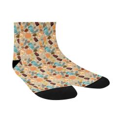 Enchanted Autumn Morning Quarter Socks