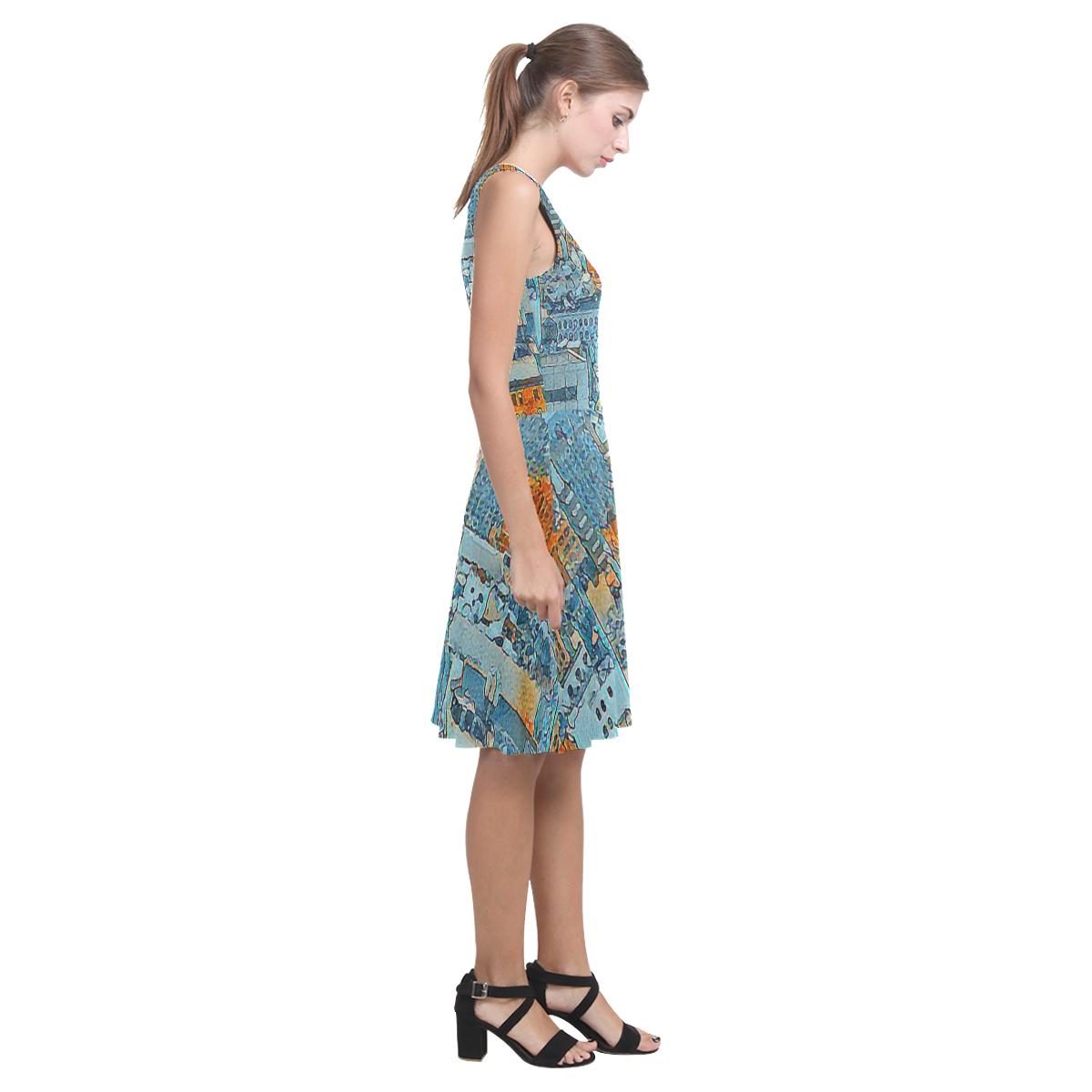 A Woman's World Atalanta Casual Sundress(Model D04)