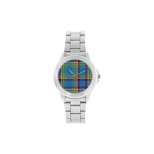 Yukon Tartan Unisex Stainless Steel Watch(Model 103)