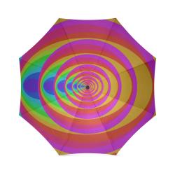 Oval circle Foldable Umbrella (Model U01)