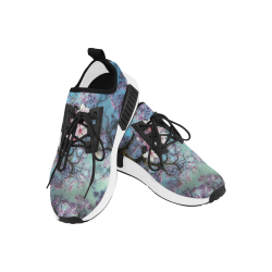 Cherry blossomL Women's Draco Running Shoes (Model 025)
