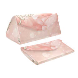Wonderful flowers Custom Foldable Glasses Case