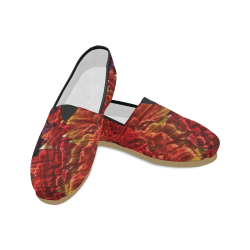 Muscled Petals Unisex Casual Shoes (Model 004)