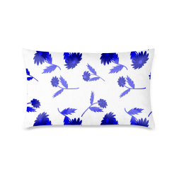 """Fantasy flowers Custom Zippered Pillow Case 16""""x24""""(One Side Printing)"""