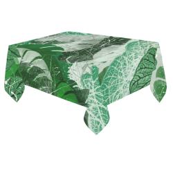 "Tropicalia Cotton Linen Tablecloth 60""x 84"""