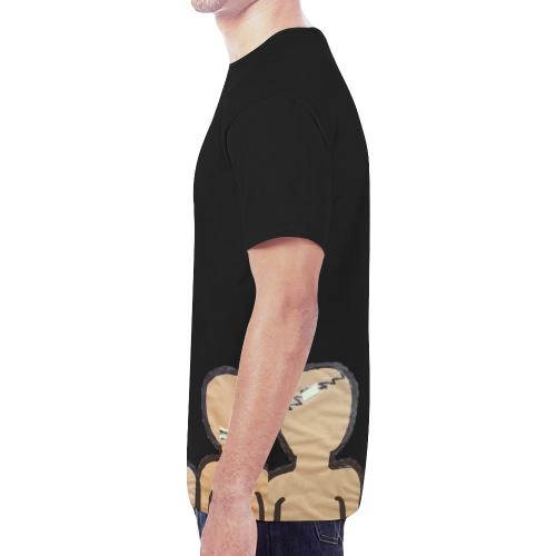 trio New All Over Print T-shirt for Men (Model T45)
