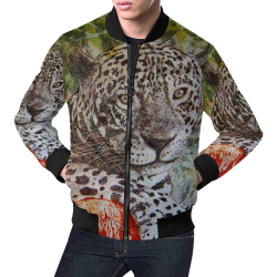 Brazilian Real All Over Print Bomber Jacket for Men (Model H19)